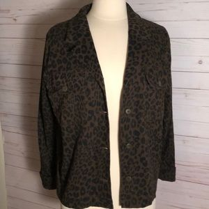 Sanctuary Leopard Print Jacket